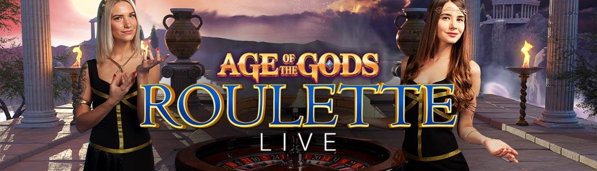 Casinò Online AGE OF GODS BONUS ROULETTE LIVE