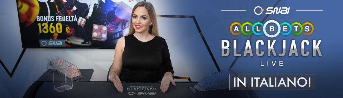 Casinò Online All Bets Blackjack Live