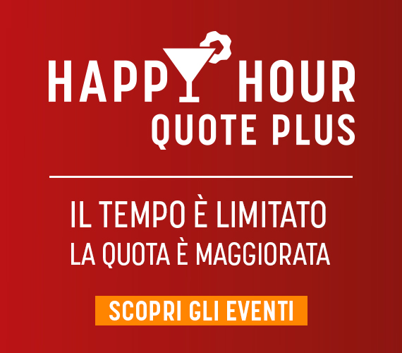 Happy Hour Quote Plus 13 luglio - tab Live