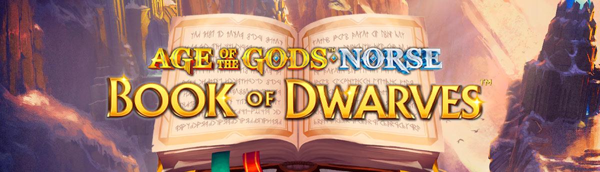 Slot Online Age of the gods: book of dwarves