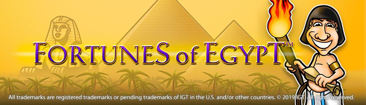 Slot Online FORTUNES OF EGYPT