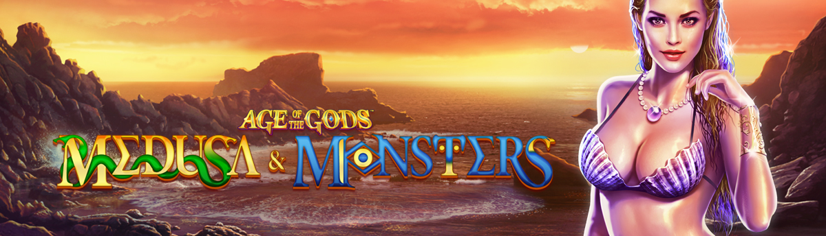 Slot Online Age of the Gods: Medusa and Monsters