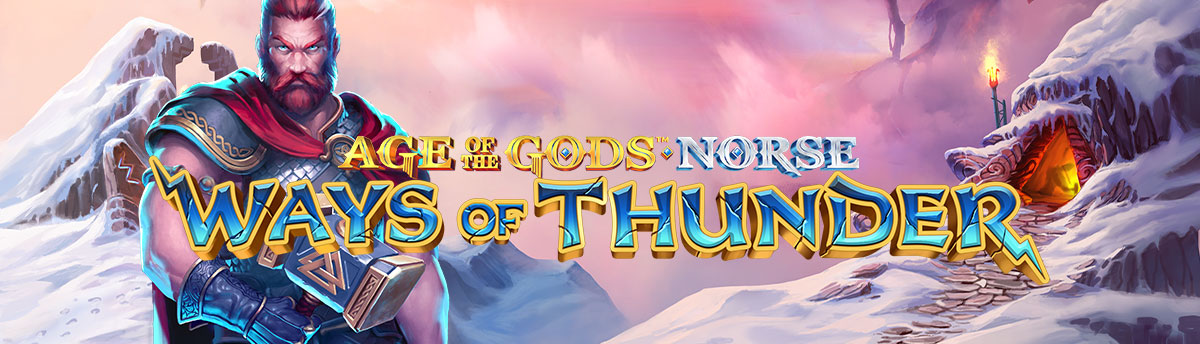 Slot Online AGE OF THE GODS NORSE: WAYS OF THUNDER