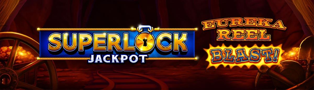 Slot Online EUREKA REELS BLAST! SUPERLOCK JACKPOT