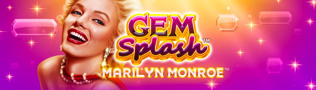 Slot Online GEM SPLASH: MARILYN MONROE