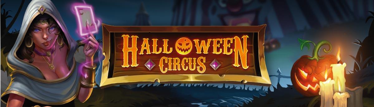 Slot Online Halloween Circus