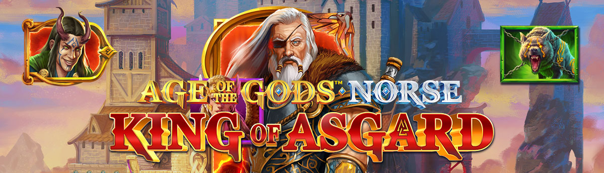 Slot Online Age of the Gods: Norse King of Asgard