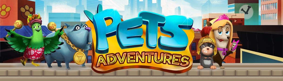 Slot Online PETS ADVENTURES