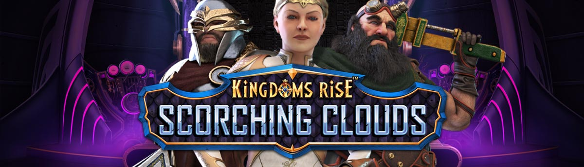 Slot Online Kingdoms Rise: Scorching Clouds