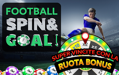 Casinò Online football spin and goal