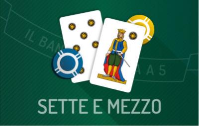 Casinò Online SETTE E MEZZO CASINO'
