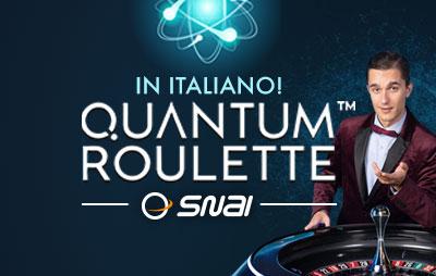 Casinò Online Snai Quantum Roulette Live