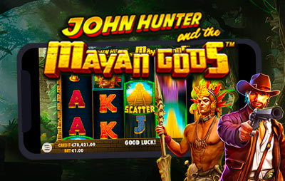 Slot Online John hunter and the mayan gods