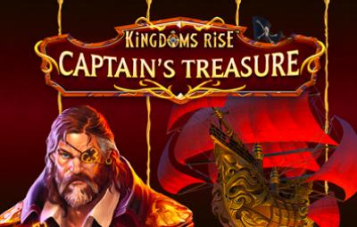 Slot Online KINGDOMS RISE- CAPTAIN'S TREASURE