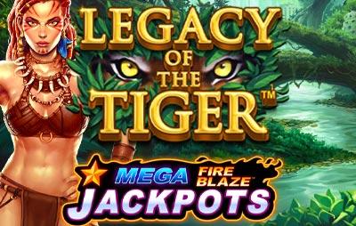 Slot Online MEGA FIRE BLAZE: LEGACY OF THE TIGER