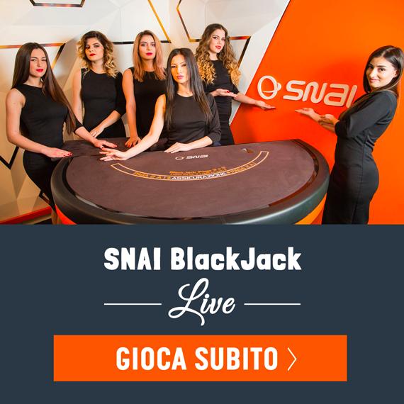 Snai Blackjack live