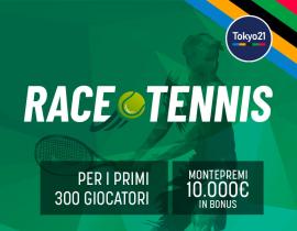 Tennis Olimpic Race