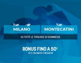 Milano e Montecatini col kasko