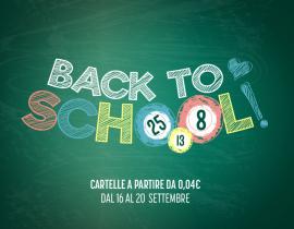 Bingo Back to School