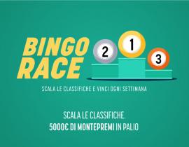 Bingo Race - 5.000€ in Bonus