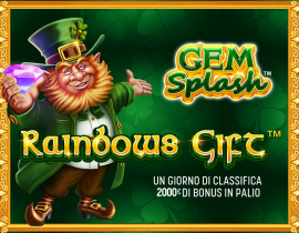 In classifica con Gem Splash: Rainbows Gift