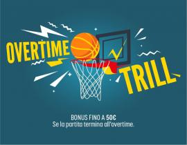 Basket all'overtime