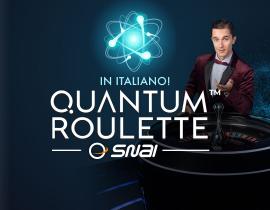 Snai Quantum Roulette Live