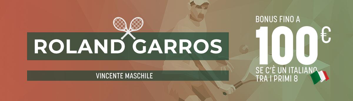 Roland Garros con gli italiani