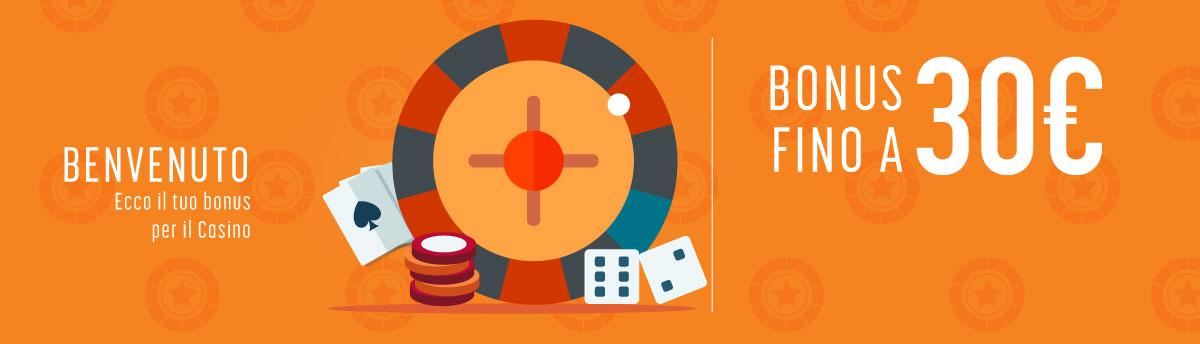 Bonus Benvenuto Casino