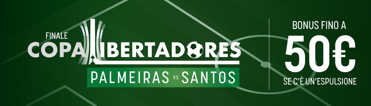 Libertadores col rosso