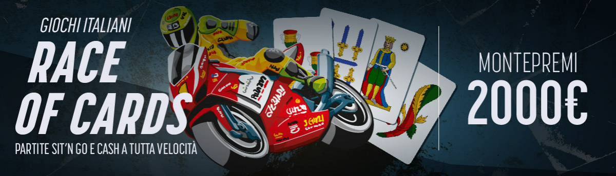 Race of cards