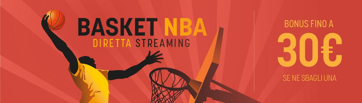 Bonus in multipla sull'NBA dal 10 al 16 agosto