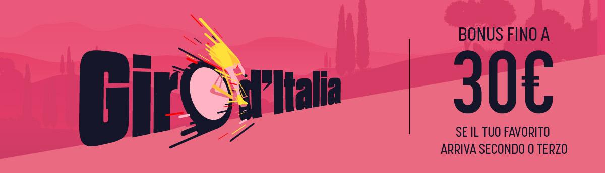 Giro d'Italia, bonus se arriva secondo o terzo