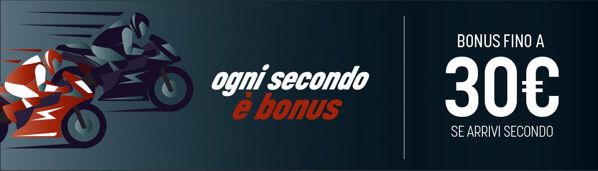 MotoGp. bonus se arriva secondo sul Gp del 25 ottobre