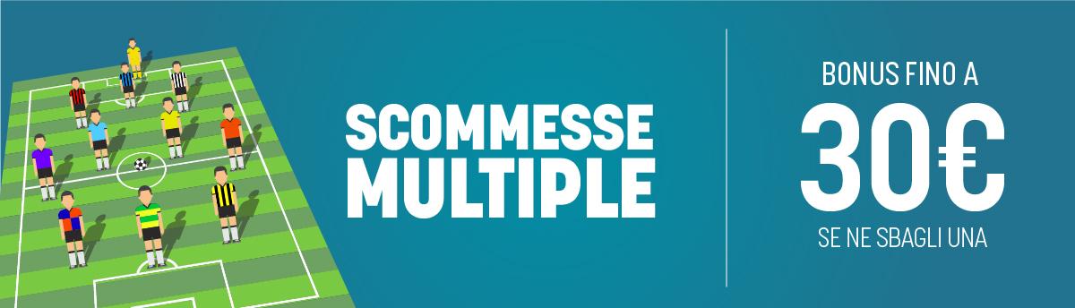 Bonus in multipla su liga, premier e francia 11-14 settembre