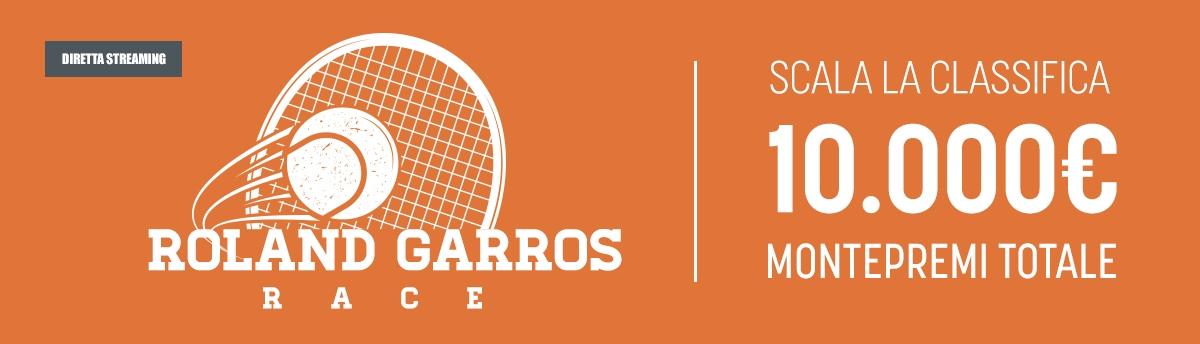 Roland Garros Race, montepremi da 5.000€