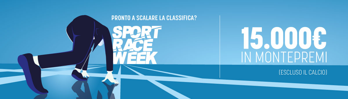 Sport Week Race 15.000€ di montepremi