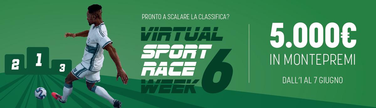Virtual Race dal 1 al 7 giugno