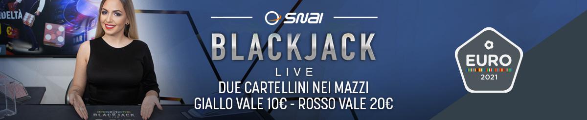 Blackjack Live Euro 21