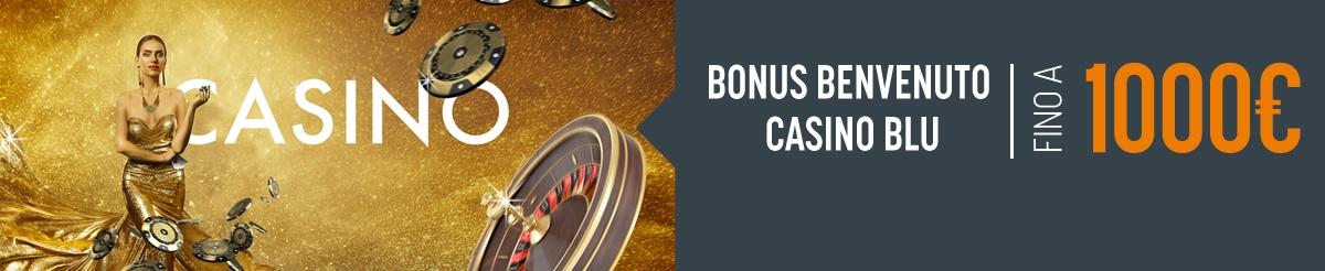 Bonus Benvenuto su Casino