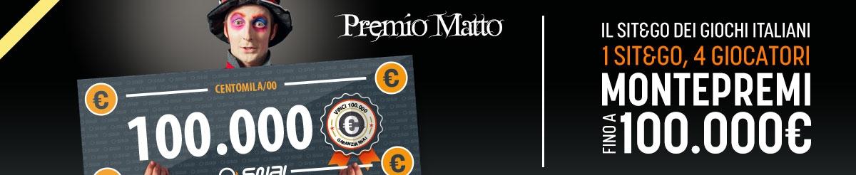 IL PREMIO MATTO È SEMPRE PIÙ MATTO!